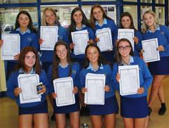 Excellent Junior Cert Results