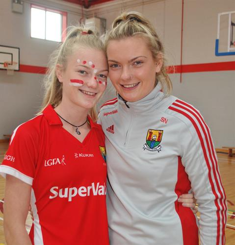 Saoirse and her sister Aoibhe Noonan.JPG