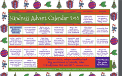 Christ King Kindness Advent Calendar