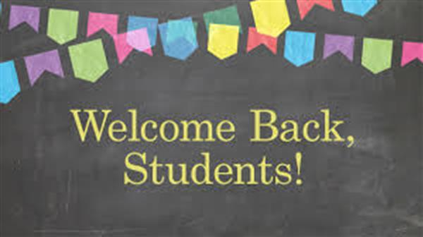 Welcoming back our students