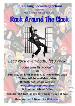 Rock Around the Clock TY Musical