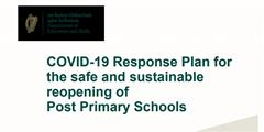 Return to School 2020: Covid 19 Response Plan